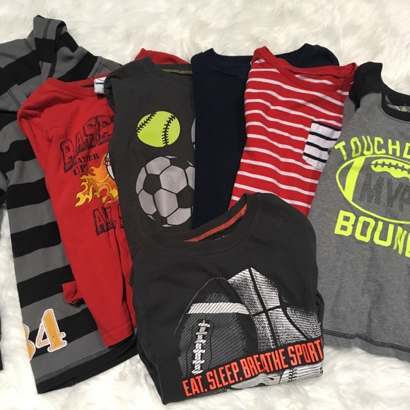 Other - Set of 7, boy's 5T Long sleeves